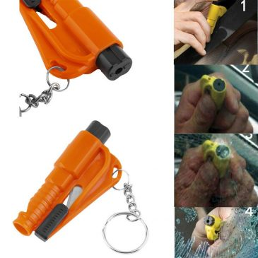 3 in 1 Emergency <br>Mini Safety Hammer <br>Seat Belt Cutter