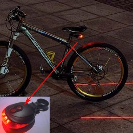 Rear <br>Bicyle Red<br>Laser Lamp