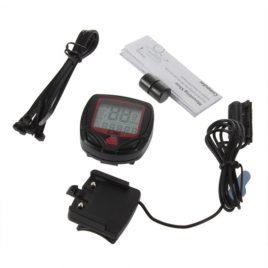 Waterproof <br>14-Function LCD <br>Odometer Speedometer