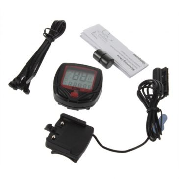Waterproof <br>14-Function LCD <br>Odometer Speedometer