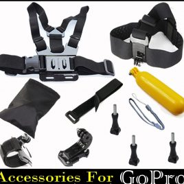 GoPro Camera Kit <br>Head Strap Chest Strap <br>Floating Stick