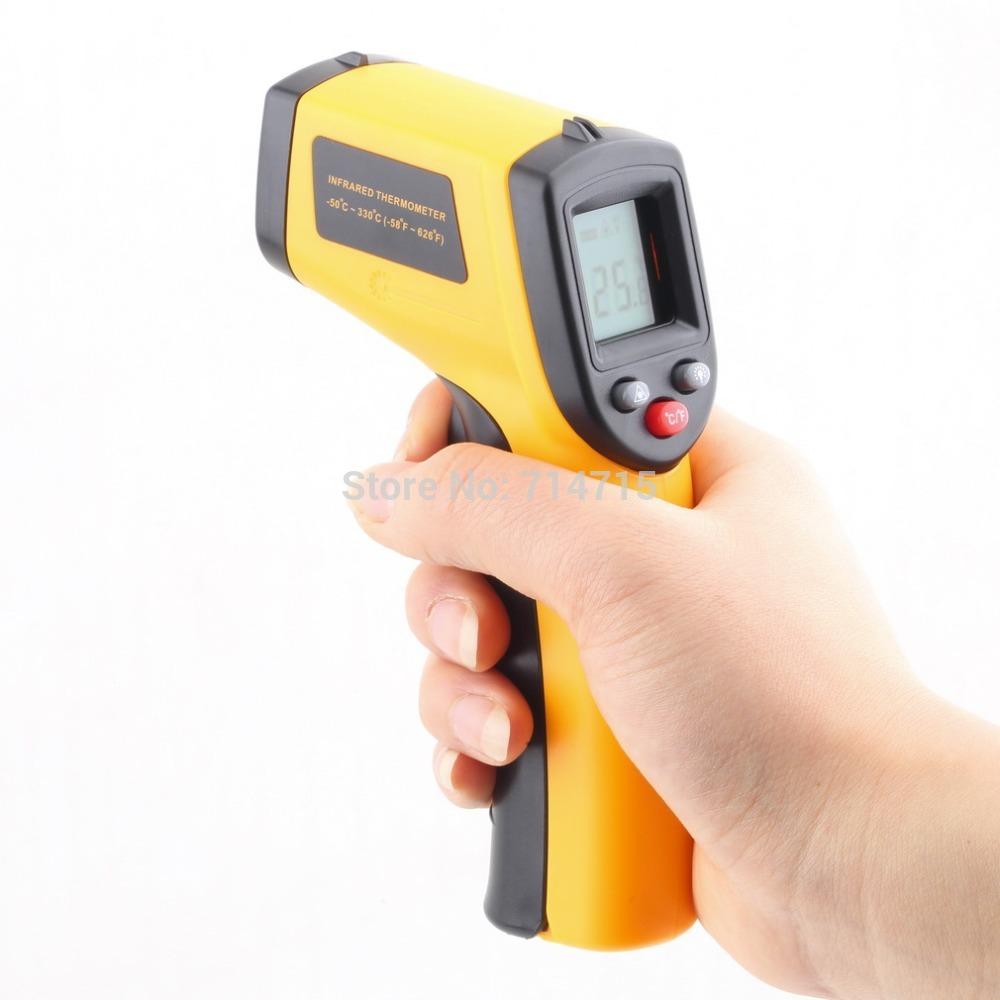 Laser Lcd Digital Ir Infrared Thermometer Gun