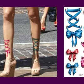 Elegant Life-Like 3D <br>Body Art Temporary <br>Waterproof Tattoos 7