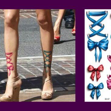 Elegant Life-Like 3D <br>Body Art Temporary <br>Waterproof Tattoos 7