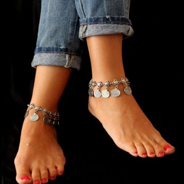 Boho Luxurious Tassel Anklet Charms