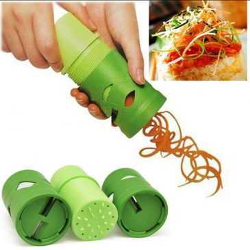 Vegetable Green Spiral Garniture Slicer