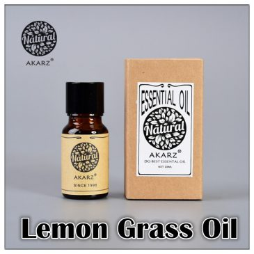 AKARZ Pure Natural Lemon Grass Essential Oil Mosquito Repellent 3 Sizes
