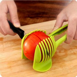 Plastic Tomato Lemon Fruit Slicer Guide