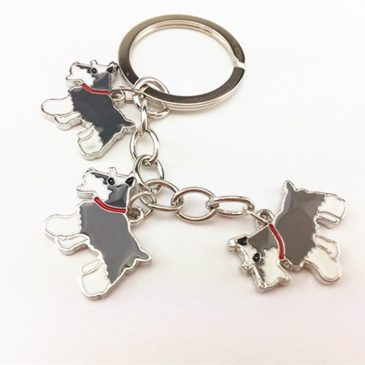Schnauzer Key Chains