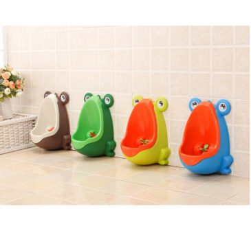 Cool Cute Mr Froggy Boys Toddler Potty Training Urinal