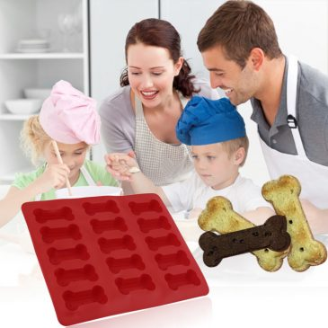 DIY Silicone Dog Bone Shaped Biscuit Mould